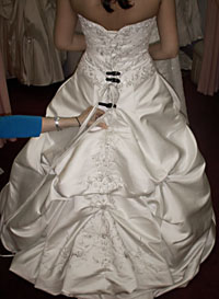 Schedule A Fitting For A French Bustle Point